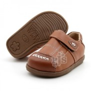 Light Brown with Brown Criss Cross Toddler Boy